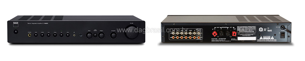 Amplificador Integrado NAD C 316 Bee
