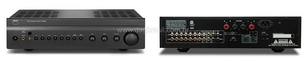 Amplificador Integrado NAD C 326 Bee