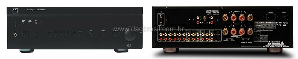 Amplificador Integrado NAD C 375 Bee
