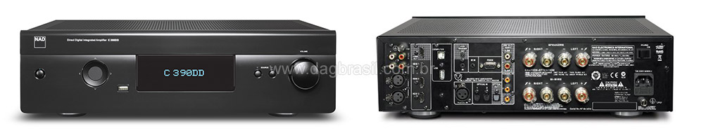 Amplificador Integrado NAD C 390 DD