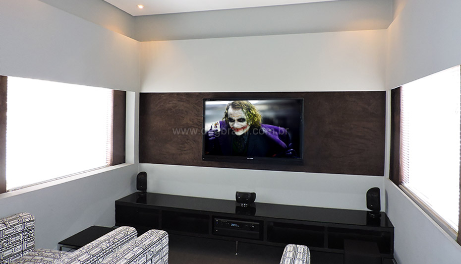 Top Projetos de home theater e salas de home cinema de alto padrão VU66